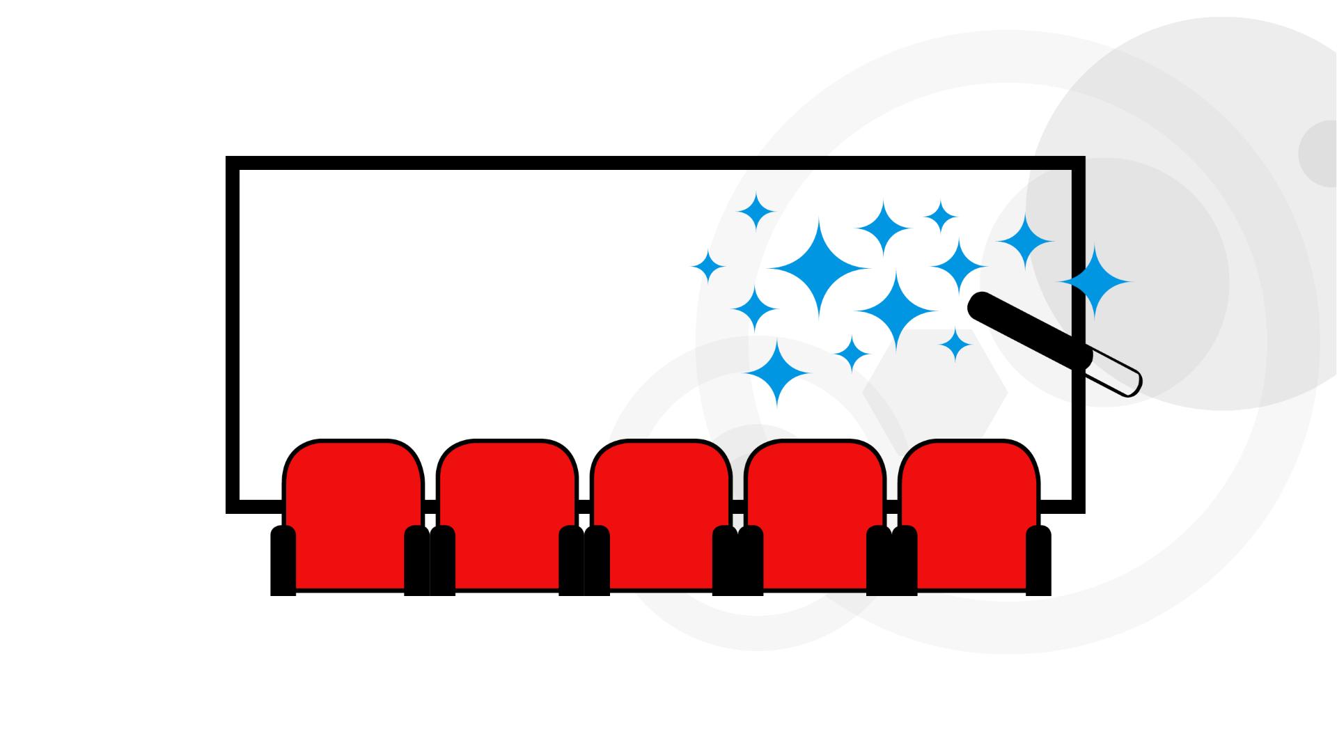 La magie du grand écran fait vendre